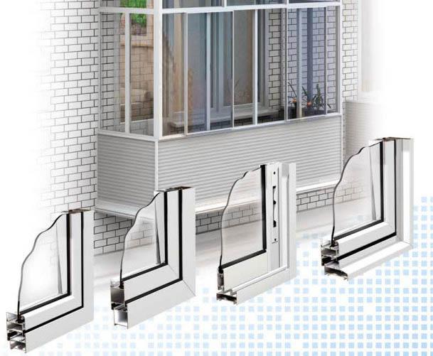 Алюминиевое остекление балконов и лоджий в славянск-на-кубан.